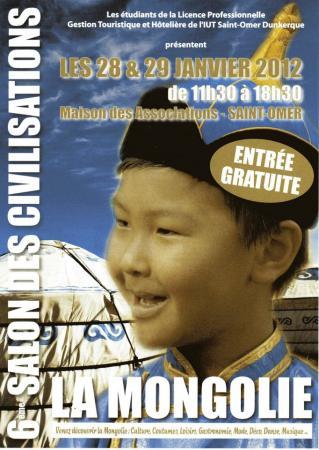 """6EME SALON DES CIVILISATIONS """"LA MONGOLIE"""""""