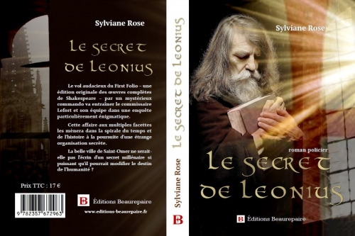Projet de couverture Le Secret de Leonius de Sylviane ROSE.JPG
